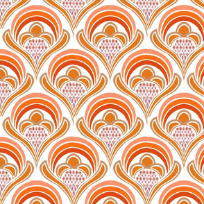 bright damask orange