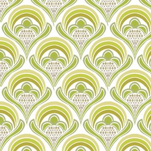 bright damask green
