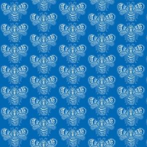 BeeHappy - med - rich blue reverse