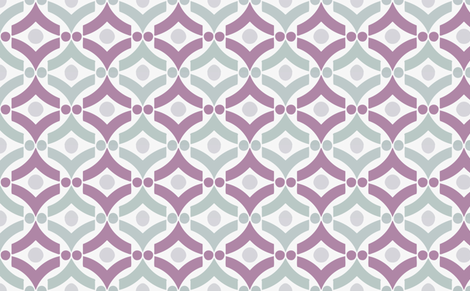 eye of the fifties purple fabric by myracle on Spoonflower - custom fabric
