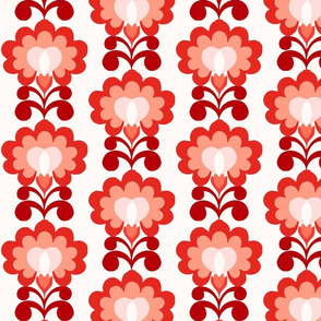 flowerheart red