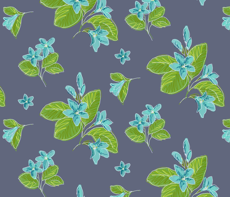 Mayflower - Large fabric by jennjersnap on Spoonflower - custom fabric