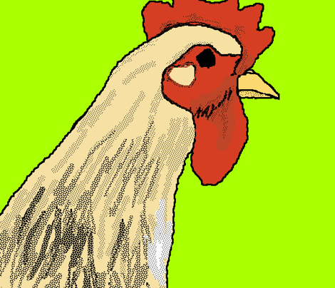 Roosters_poster_style__3