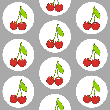 Cherrygrey fabric by smuk on Spoonflower - custom fabric