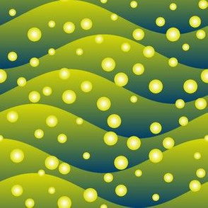 firefly swarm - hills