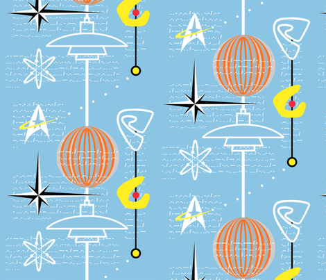 Classical Geek fabric by moirarae on Spoonflower - custom fabric
