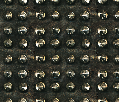studs_on_leather fabric by sydama on Spoonflower - custom fabric