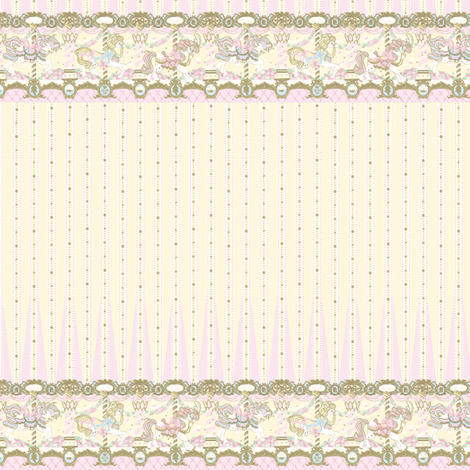 Pretty Angelic - Cream/Yellow Daydream Carnival fabric by shadow-people on Spoonflower - custom fabric