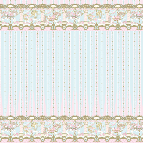 Pretty Angelic - Blue Sax Daydream Carnival fabric by shadow-people on Spoonflower - custom fabric