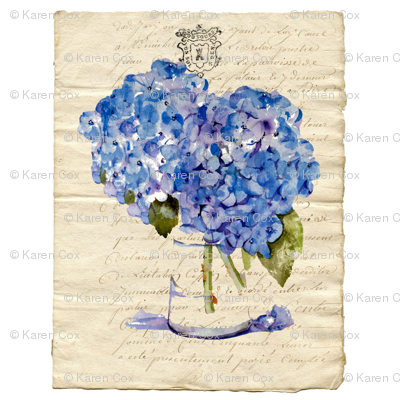 The French Hydrangea Letter