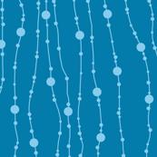 Blue Swingin' Beads