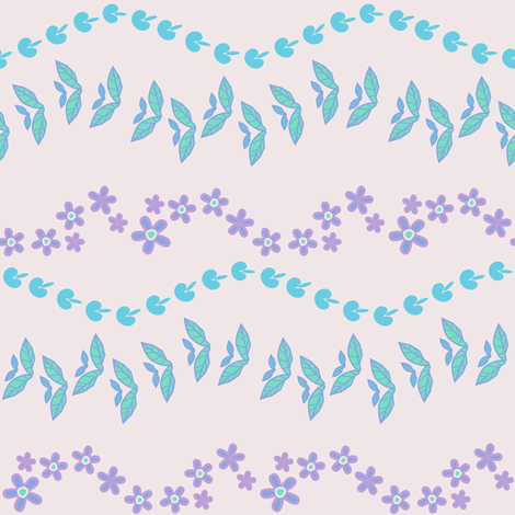 Garden Garlands! - Desert Night - Desert Night Hex - © PinkSodaPop 4ComputerHeaven.com