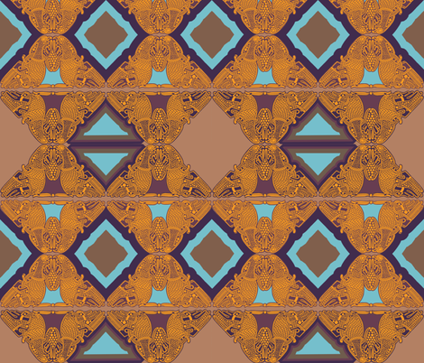 viking2 fabric by susiprint on Spoonflower - custom fabric