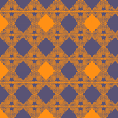 celtic birds purple and orange