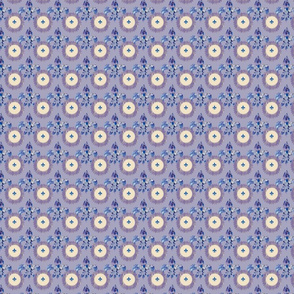 fleur di lis on lavender