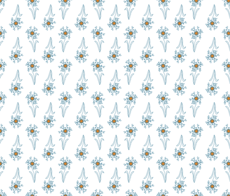 DAISY_DOT_WHiTE-ch fabric by pfeiffer on Spoonflower - custom fabric