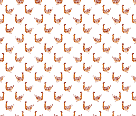 BIRDS_WHITE-ch fabric by pfeiffer on Spoonflower - custom fabric