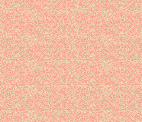 Thurngasse Blush fabric by amyvail on Spoonflower - custom fabric