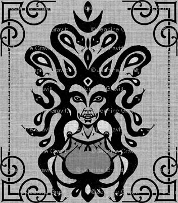 Medusa's Damask