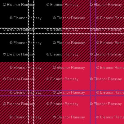 Ramsay Tartan in Red
