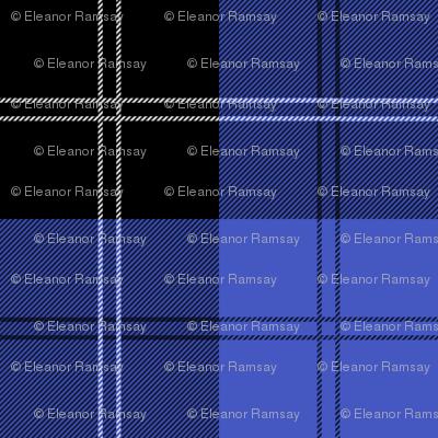 Ramsay Hunting Tartan in Blue