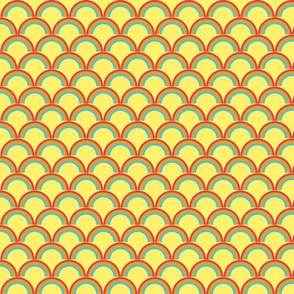 rainbow yellow