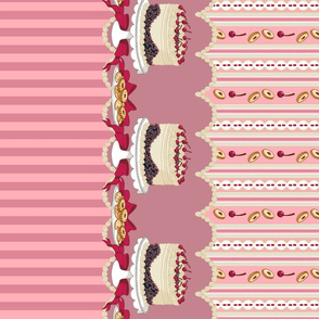 Black Forest Cake (Pink)