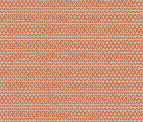 TRIANGULAR_WARM_ORANGE fabric by glorydaze on Spoonflower - custom fabric