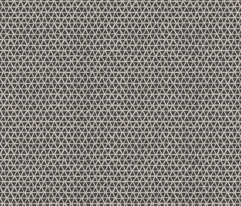 TRIANGULAR_WARM_GREY fabric by glorydaze on Spoonflower - custom fabric