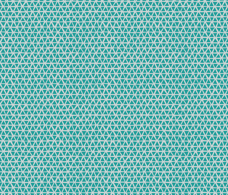 TRIANGULAR_COOL_TEAL fabric by glorydaze on Spoonflower - custom fabric