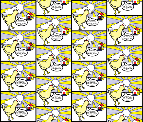Roy Chicktenstein fabric by love,witty on Spoonflower - custom fabric