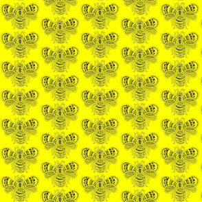 BeeHappy - med - yellow