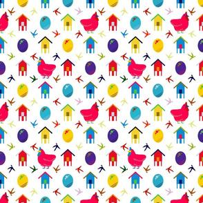 Chickens after Murakami
