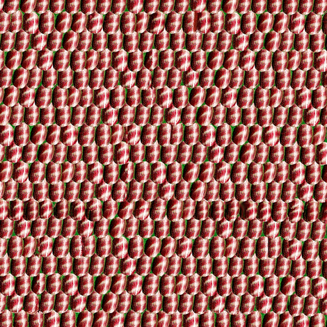 Red silver scales fabric by ladyfayne on Spoonflower - custom fabric