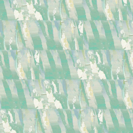 Lilies On Green fabric by kiniart on Spoonflower - custom fabric