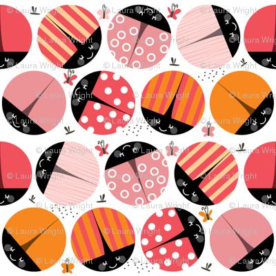bugs - pink