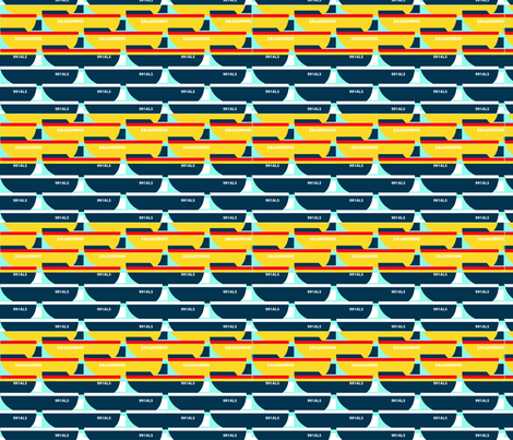 Fishermans friend fabric by scottholmes on Spoonflower - custom fabric