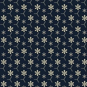 Snowflake Pattern 1863 No. VI