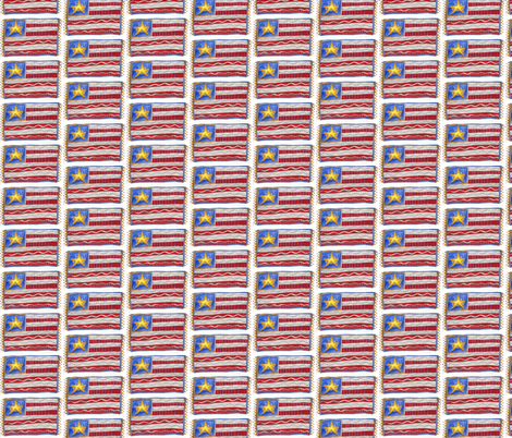 Old_Glory_1 fabric by pamsquilting on Spoonflower - custom fabric