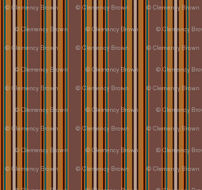 Brown pallete stripes
