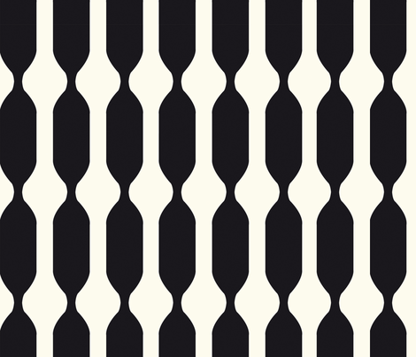 small black and white swizzle fabric by clemency_brown on Spoonflower - custom fabric