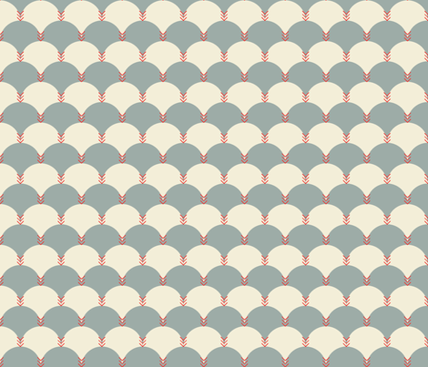 Scallops & Chevrons_JH_14 fabric by michelerosenboom on Spoonflower - custom fabric
