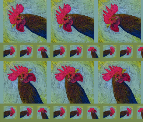 dana_spopchicken fabric by lauriedana on Spoonflower - custom fabric