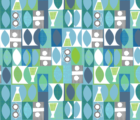 modern geek fabric by ottomanbrim on Spoonflower - custom fabric
