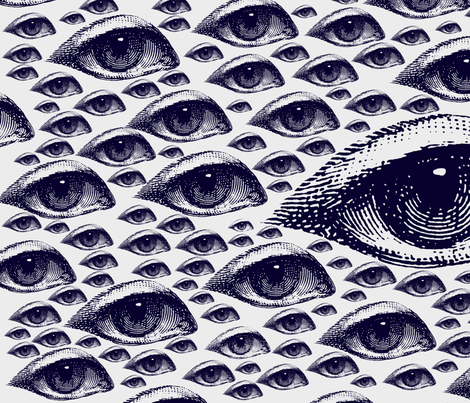 Eye Eye Eye fabric by hollycejeffriess on Spoonflower - custom fabric