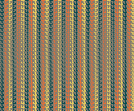 Pi Stripe fabric by meg56003 on Spoonflower - custom fabric
