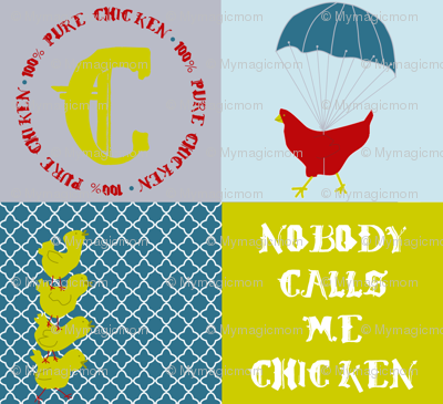 Who are you calling chicken?
