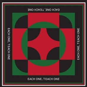 Each One Teach One - Black