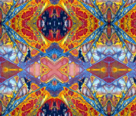 Dragonfly Wing (s) (Cherry Creek Jasper) fabric by prettyrockdesigns on Spoonflower - custom fabric