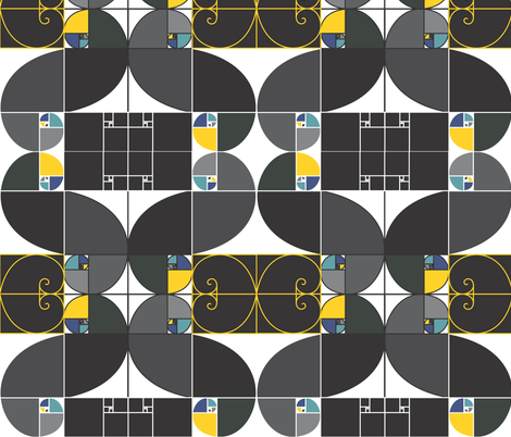 golden_ratio fabric by pmcs on Spoonflower - custom fabric